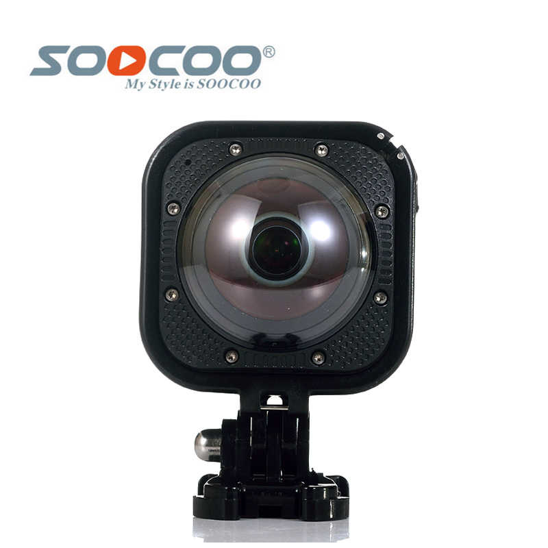 Оригинальный SOOCOO на Cube360F Wi-Fi 1080P Full HD 360 градусов Панорама Камера Водонепроницаемая на глубине до 20 м
