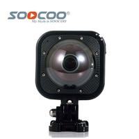 Original SOOCOO Cube360F Wifi 1080P Full HD 360 Degree Panorama Camera 20m Waterproof Depth