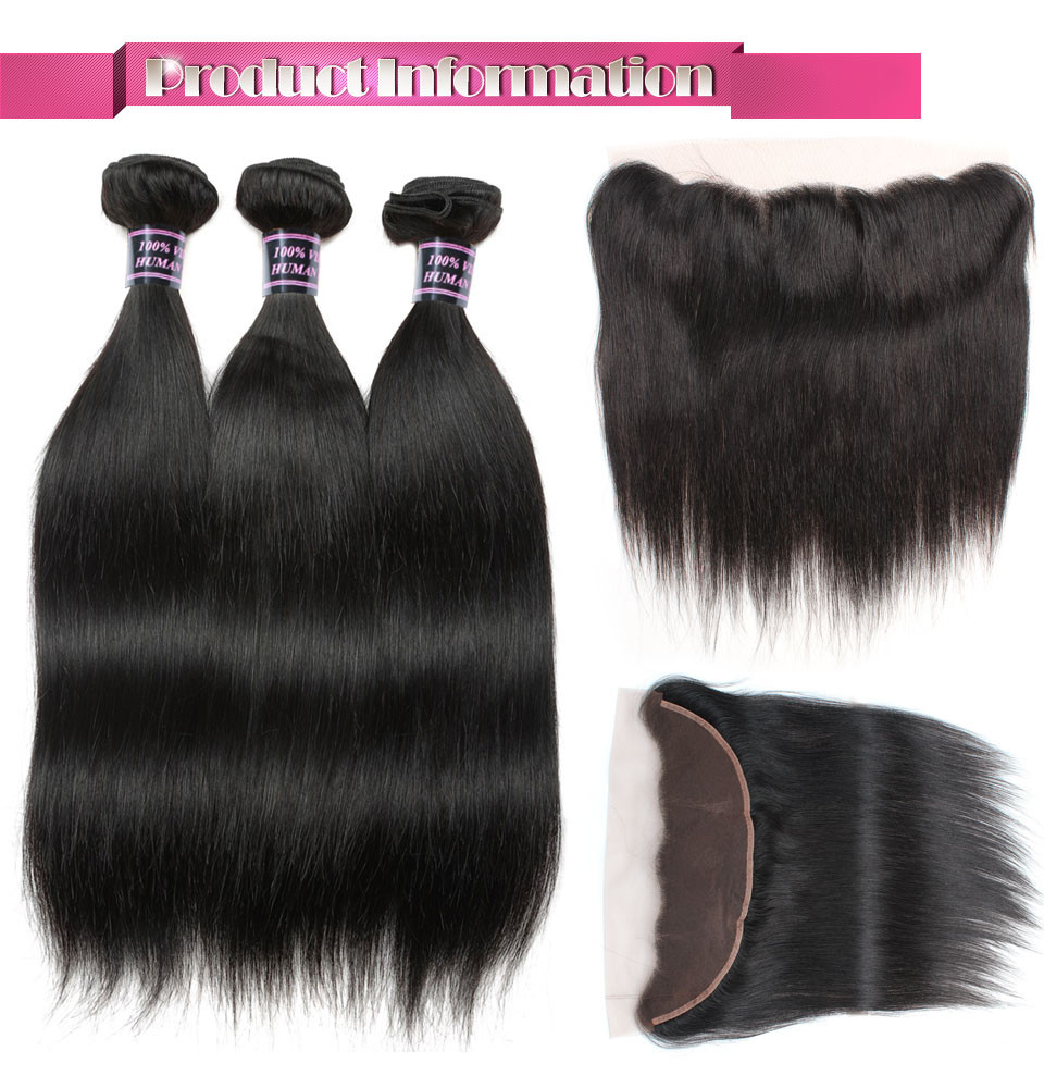 _01 Straight  Ishow Hair Ear To Ear Lace Frontal Closure With Bundles Brazilian Straight Human Hair three Bundles With Closure Non Remy four Pcs/lot HTB1SBCBdHSYBuNjSspiq6xNzpXap