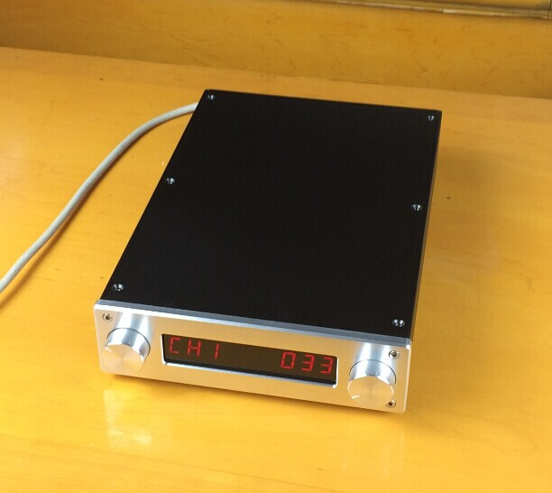 Preamp Amplifier Chassis / Aluminum Case DAC Amp Shell /DIY amp enclosure wa60 full aluminum amplifier enclosure mini amp case preamp box dac chassis