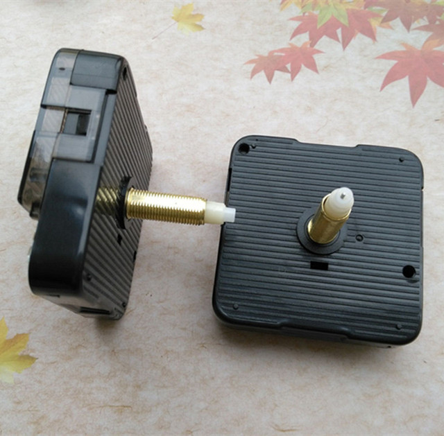 10PCS Sweep High Torque Clockwork Mechanism Quartz Machine Clockwork DIY with Clock Arms