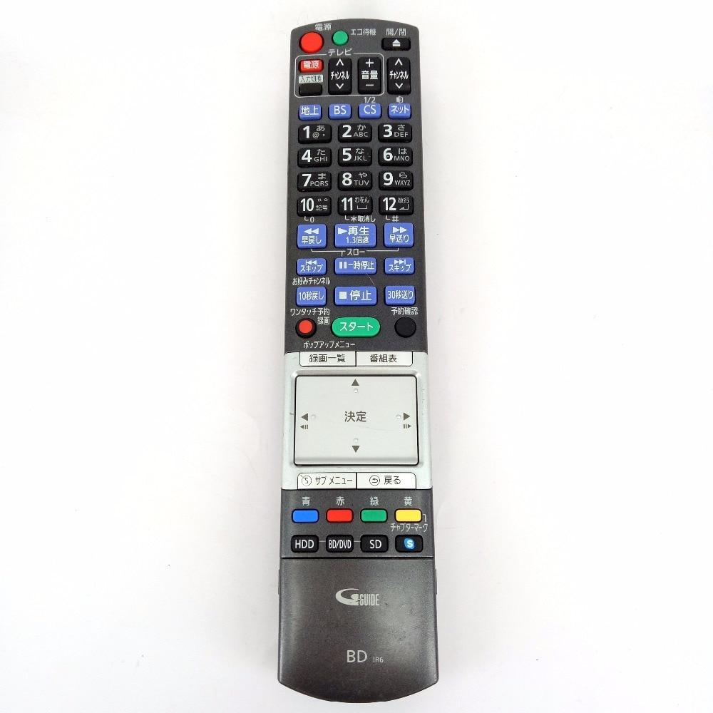 Used Original for Panasonic N2QBYB000013 for DIGA Blu Ray BD DVD recorder For DMR-BZT810 Fernbedienung проигрыватель blu ray lg bp450 черный