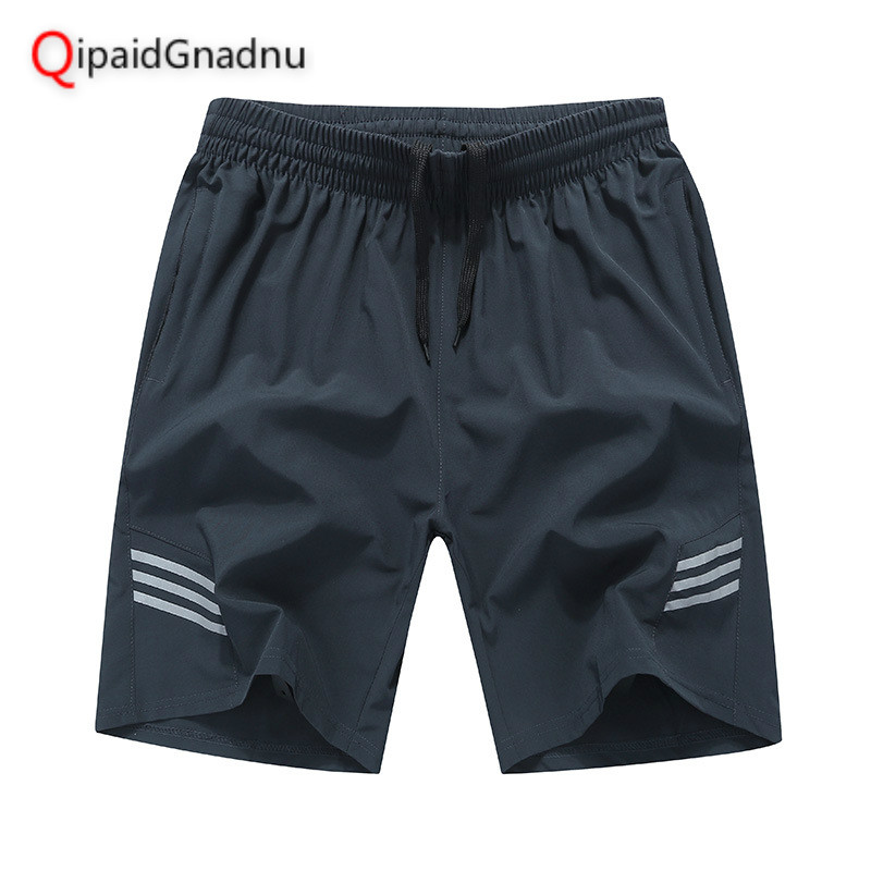 Casual Shorts Big-Size Summer Mens 8xl Quick-Drying-Board Elastic-Waist Thin Breathable