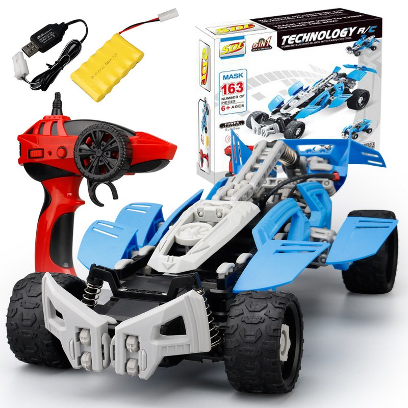 2.4G RC Car Remote Control Toys Drift High Speed Vehicle Model Toy Deformation RC Car Off-Road Truck Toy For Kids Birthday Gift