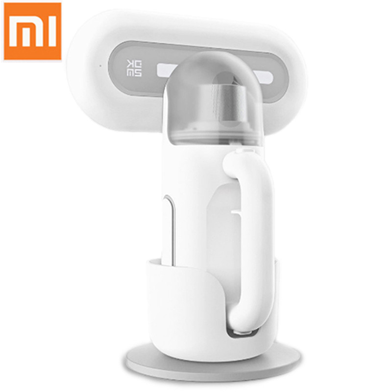 цена Original Xiaomi mijia Wireless Handheld Dust Mite Controller Ultraviolet Vacuum Cleaner Smart For Home Rechargeable SWDK KC101