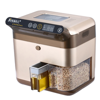 Home Fully Automatic Mini Oil Press Family Intelligent Hot And Cold Commercial Multifunction Frying Oil Press