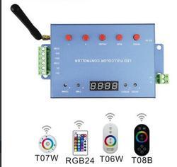 DMX512 kontroler DC9-24V maksymalna moc wyjściowa sygnału DMX 512 grupa 88 rodzajów efektów