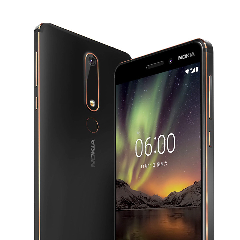 Nokia 6 2nd 5,5 Snapdragon 630 Octa Core 4G LTE Handy 4GB RAM 32 GB/ 64GB ROM 16MP 8MP Dual Kamera Android Handy - 2