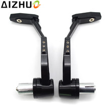 Motorcycle CNC Aluminum Hand Guard Brake Clutch Lever For Yamaha XMAX 125 250 300 400 NMAX 155 XT DT YBR TTR