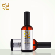 PURC on Sale Moroccan Argan Oil Repair Damaged Hair for Moisture Wholesale 2 Pcs One Lot Best Hair Care Free Shipping 11.11 цена