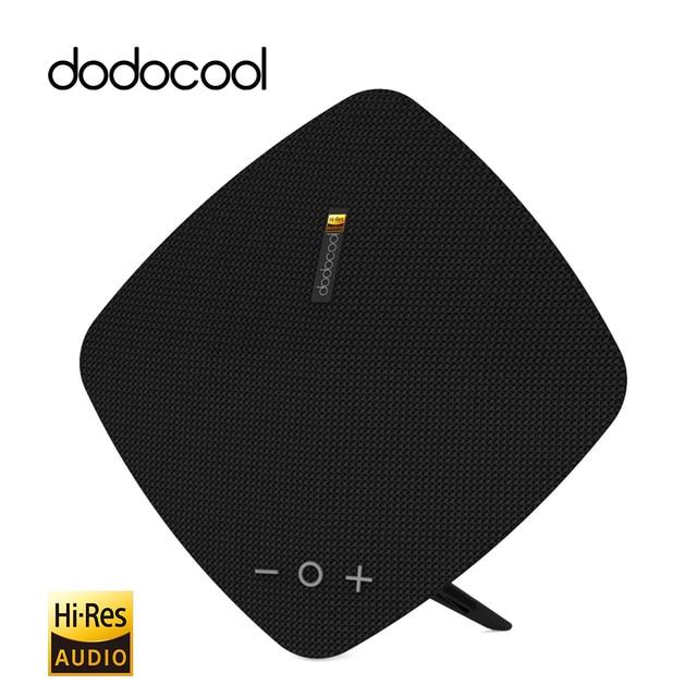 Dodocool hi-res Altavoz Bluetooth altavoz estéreo con micrófono inalámbrico soporte TF tarjeta 32 GB música altavoz portátil