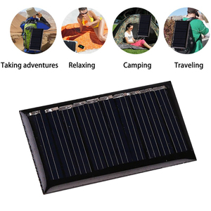 Image 3 - 0.15W/0.25W/1W 5V Mini Solar Panel Cell Charger Polycrystalline Portable DIY Battery Cell Charger Module for Phones Outdoors