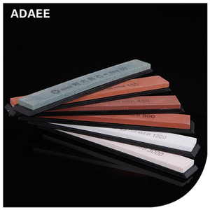 ADAEE 1 piece replacement whetstone For Fixed angle sharpener 150*20*5mm with base