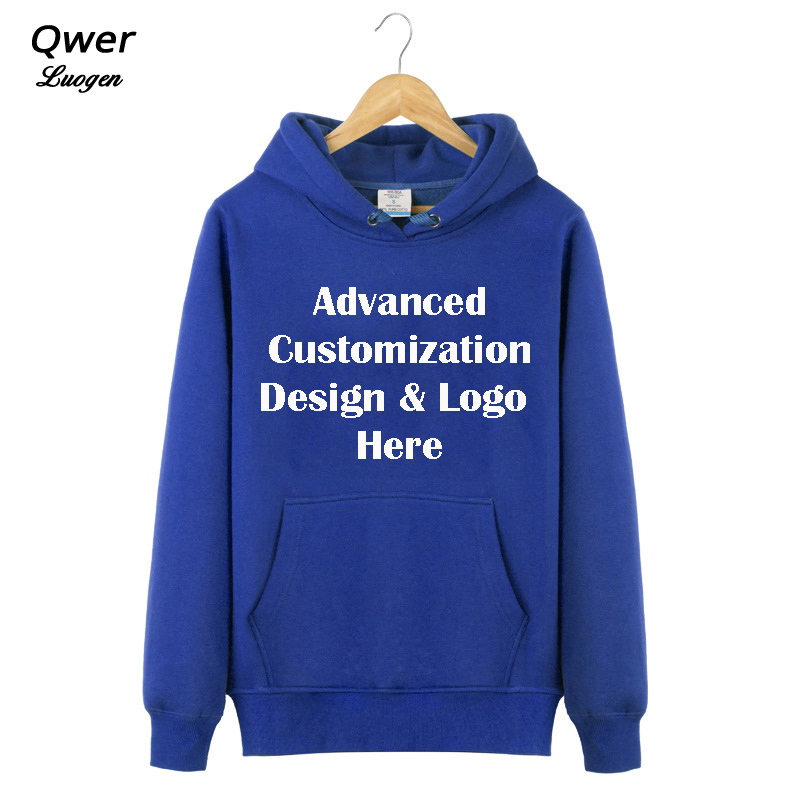 Advanced Customization Mens Hoodies Custom Print Logo Design Hoodie Fashion Spring Seven Colors Coat Sweatshirts High Quality