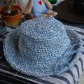 Bow Paja Tejida Sombreros Para Las Mujeres Sombrero Del Sol Del Verano 57 tamaño Plegado de Playa de Color Sólido Hecho A Mano Tocado de La Nueva Manera 2016031419 u2