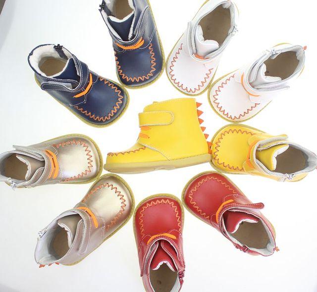 2016 новый натуральная кожа девушки сандалии белый летом ходок shoes with butterfly antislip sole малышей 120-160insole все
