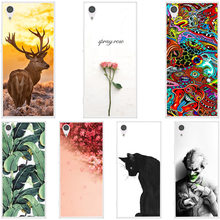 Painting Silicone Soft Back Cover For Sony Xperia XA1 Plus Dual Case For Sony XA1 Plus G3412 Cover phone cases(China)