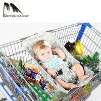 ARRIES Foldable Baby Kids Shopping Hammock Parachute Cart Cushion Trolley Pad Baby Shopping Push Cart