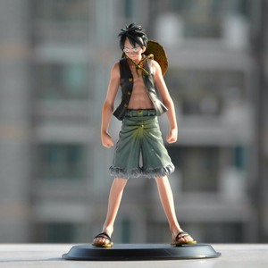 Anime One Piece Monkey.D.Luffy Straw Hat Luffy PVC Action Figure Figurine Resin Collection Model Toy Doll Gifts Cosplay(China)