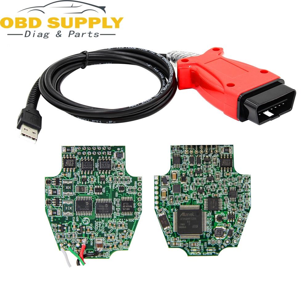 OBD2 3in1 Câble De Diagnostic Pour Jaguar/Land Rover/Toyota/Volvo pour JLR SDD V145 V155 V155 Vida 2016D/TIS tech flux