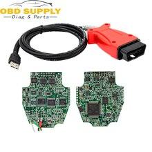 OBD2 3in1 Диагностический кабель для Jaguar/Land Rover/Toyota/Volvo для JLR SDD V145/Vida 2014D /ТИС techstream V10.10.018