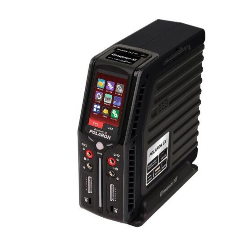 Graupner Polaron EX 800W 7S 3 Color and Touch TFT (Black) graupner des 708 bb mg