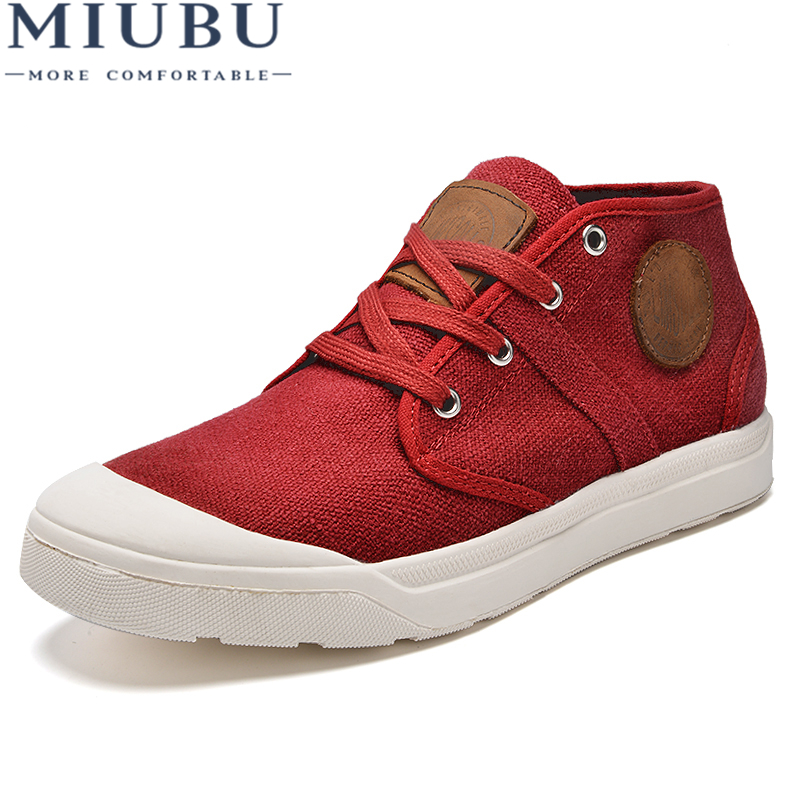 MIUBU Winter Solid Color Cotton Men 39 S Tie Plate Shoes Plus Velvet Thick Warm Casual Shoes Korean Hot Wild Fashion Males Flats in Men 39 s Casual Shoes from Shoes