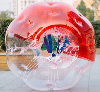 Inflatable Bubble Soccer 0.8mm PVC 1.7m Air Bumper Ball Body Zorb Bubble Ball Football,Bubble Soccer ZorbBall For Sale