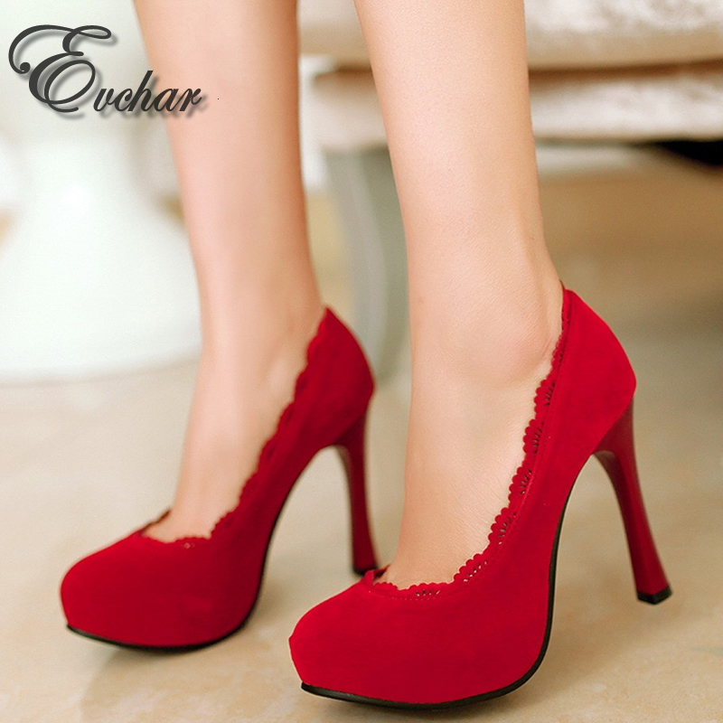 ФОТО spring autumn  waterproof Platform sexy shoes banquet lace lacework wedding thin heels pumps size 33 48