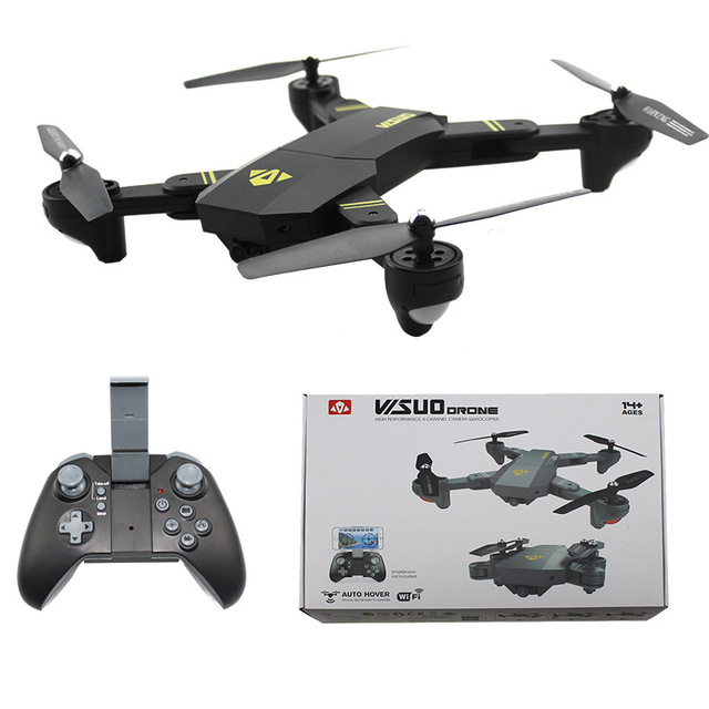 5b64911d025 Yeni Sıcak VISUO XS809HW HD Kamera Yükseklik Tutun Katlanabilir Kol Drone  açık Oyuncak RC Quadcopter RTF
