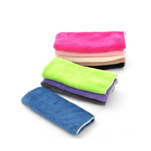 GSFY Wholesale  Absorbent Lint Free Kitchen Cleaning Oilproof Microfiber Cleaning Cloth/Rag