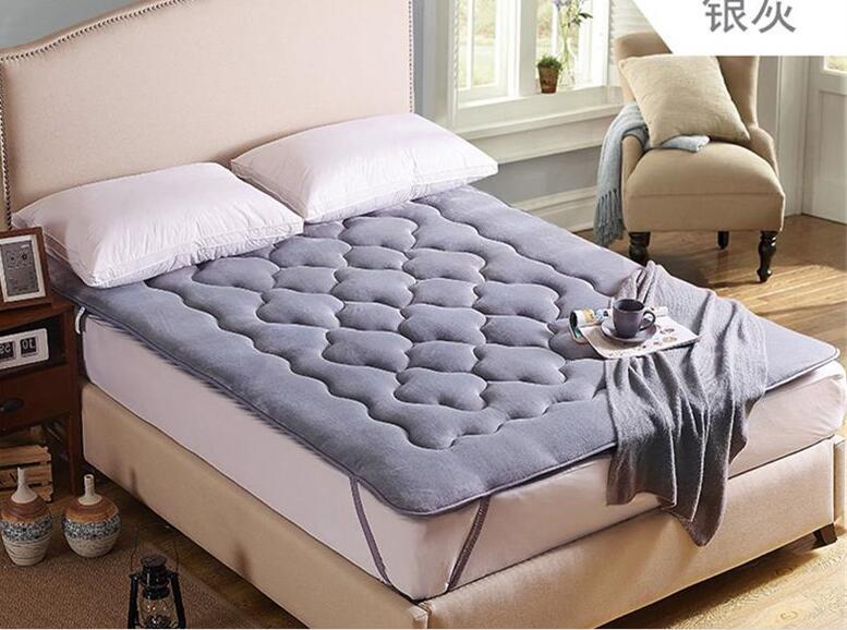 High quality Folding Tatami Thicken Farley velvet plum blossom mattress Bedding article