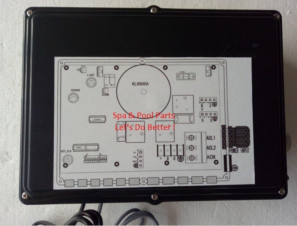 KL6600 220 V-1 oder 2 Pumpe Pack-Chinesische Ethink steuerkasten Verpacken ersetzen alt KL6500