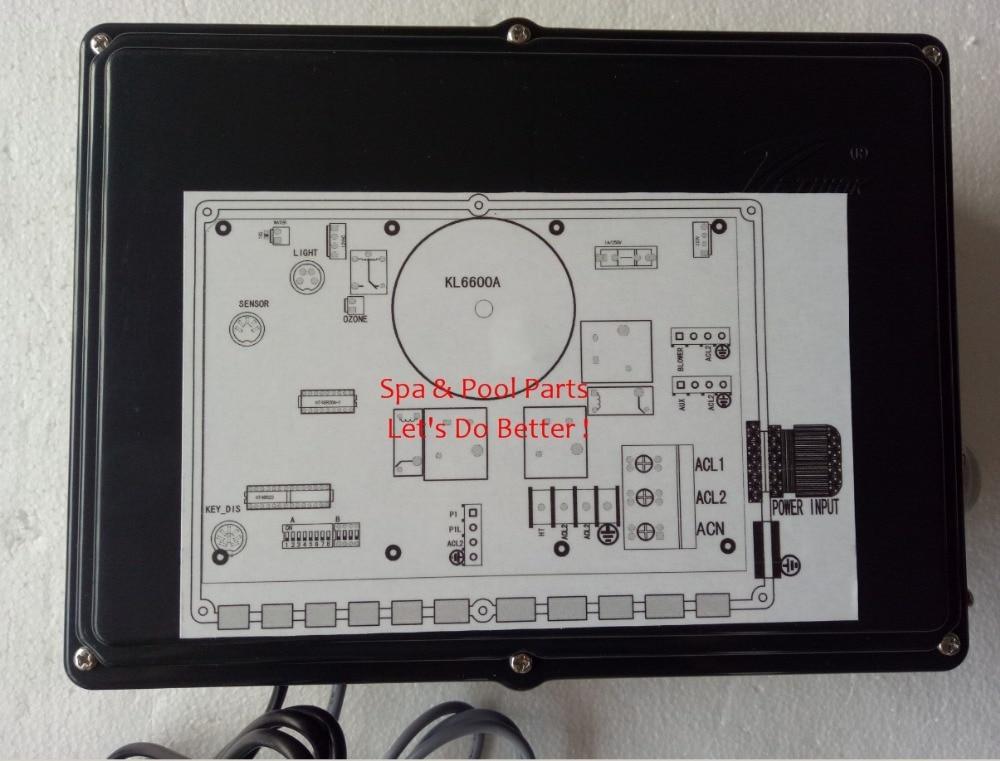KL6600 220 V-1 ou 2 Pompe Pack-Chinois Ethink contrôle boîte Pack remplacement vieux KL6500
