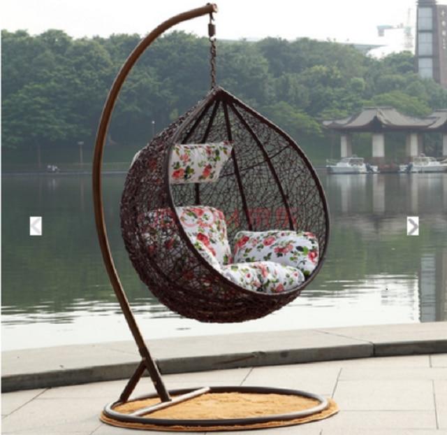 Elegant Furniture Lazy Cradle Swing Chair Indoor And Outdoor Dormitory  Balcony Hammock Hanging Basket