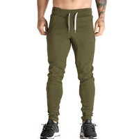 High Quality Jogger Pants Men Fitness Bodybuilding Gyms Pants For Runners Brand Clothing Autumn No Logo