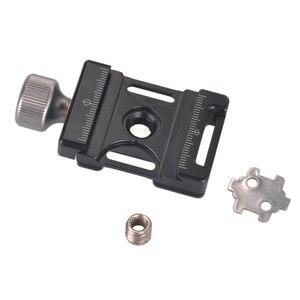 Image 3 - Bouton de vis en aluminium Andoer 38mm Mini pince à dégagement rapide Compatible avec Arca Swiss pour plaque QR 38mm