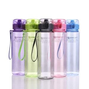 Image 4 - زجاجة مياه 560 مللي 400 مللي البلاستيك درينكوير جولة الرياضة في الهواء الطلق المدرسة مانعة للتسرب ختم غورد تسلق زجاجات مياه