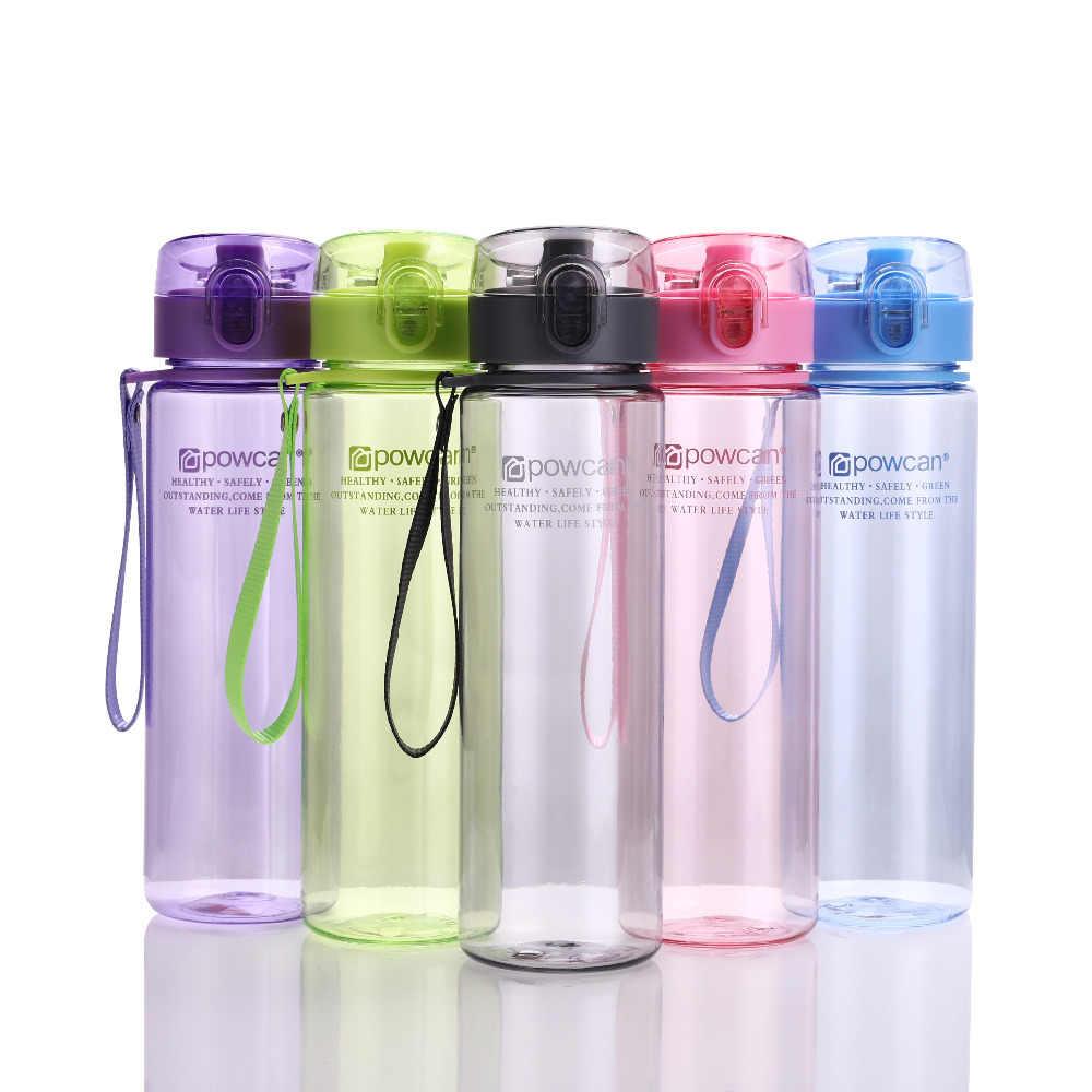Bouteille d'eau 560ML 400ML en plastique Drinkware Tour en plein air Sport école étanche joint Gourde escalade bouteilles d'eau