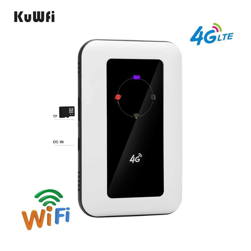 Image 4 - Unlocked 4G Wifi Router 100Mbps Car LTE Mobile Wifi Hotspot Wireless Broadband Mifi Outdoot Wi Fi Router With Sim Card Solt-in 3G/4G Routers from Computer & Office