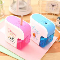 Deli 0710 New Electric pencil sharpener for school supplies office kawaii horse creative Automatic pencil sharpener