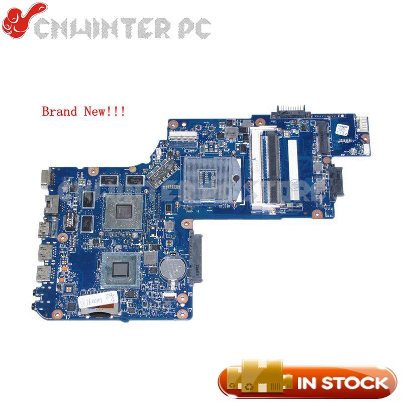 NOKOTION Brand New H000052580 Main Board For Toshiba Satellite C850 L850 Laptop motherboard 15.6'' HM76 <font><b>HD</b></font> <font><b>7670M</b></font> GPU DDR3 image