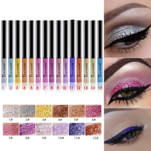 Hot Sale 1pc Sexy Glitter Eyeliner Charming Eyeshadow  Waterproof Longlasting Eyes Makeup for Women