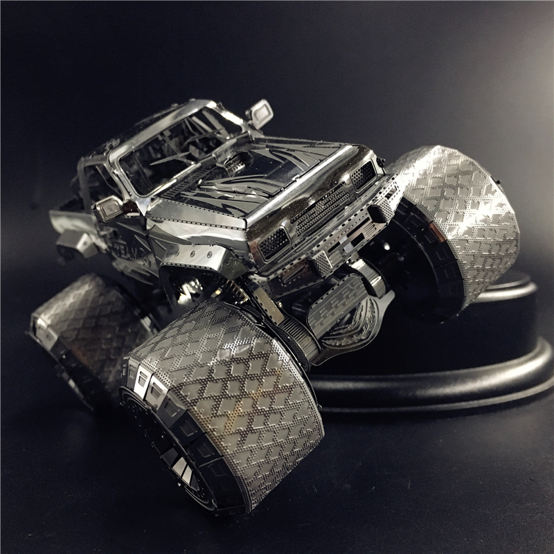 MMZ MODEL NANYUAN 3D Metal Model Kit OFF-ROADER AUTO Wrangler Assembly Model DIY 3D Laser Cut Model Puzzle Car Toys For Adult