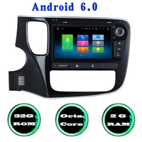 Android 6 0 Octa Core Car Radio Gps Player For Mitsubishi Outlander 2013 2016 With Wifi
