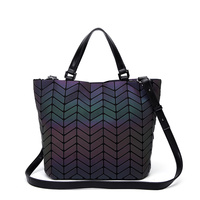 New Geometry Women Bags Luminous Baobao Women S Handbags Ladies Bucket Messenger Bag Handbag Female Tote