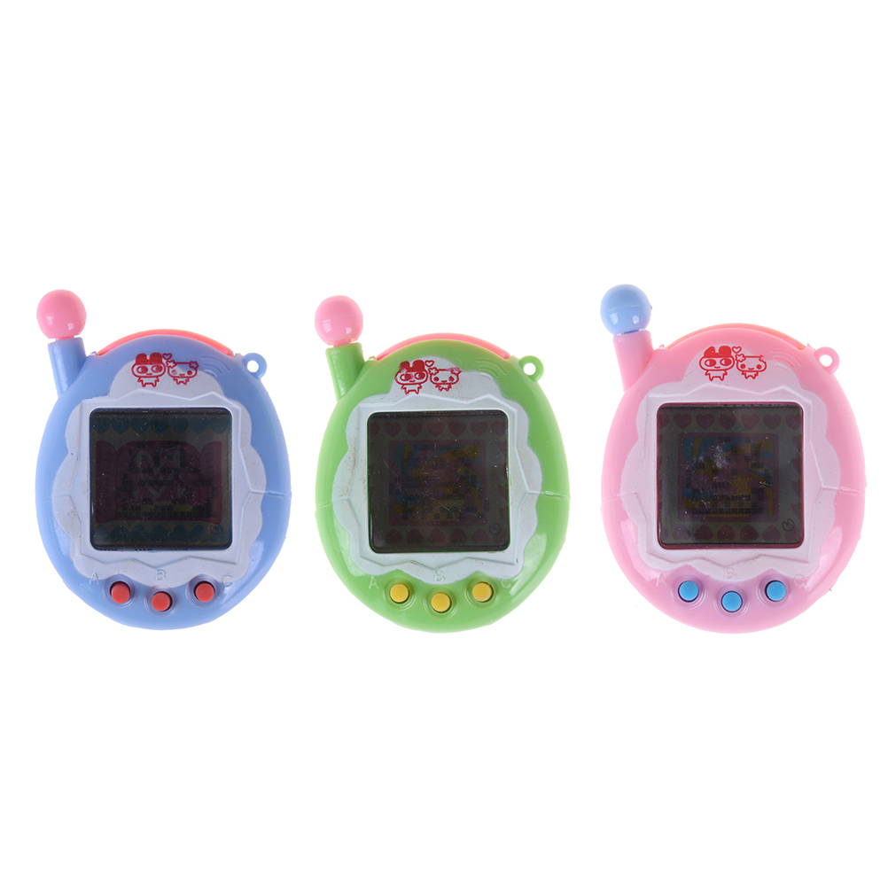 For Kids Virtual Pet Electronic Pets Toys Tamagot Elektronic Toys Virtual Cyber Pet Toy Funny Keychain Christmas Electric Toys