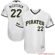 ac1eaaa28 ... MLB Mens Pittsburgh Pirates Andrew McCutchen 22 Baseball White 2017  Memorial Day Authentic Collection Flex Base ...