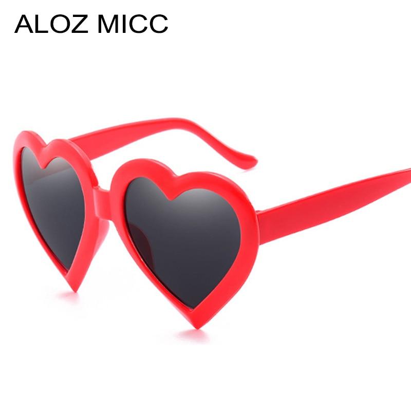 Hot Sunglasses For Women Heart Shaped Sunglasses Vintage Female Heart Shaped Sunglasses Goggles Sun Glasses UV400 Q362