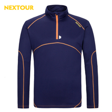 NEXTOUR Outdoor Tshirt Summer Men  Long Sleeve Quick dry T-shirt Male Outdoor Sports Breathable Soft tops Hiking trekking